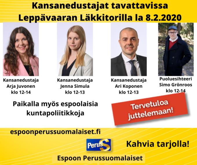 Perussuomalaiset Espoo